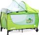 Кровать-манеж Caretero Grande 2016 (Green) -