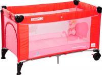 Кровать-манеж Caretero Simplo Red -