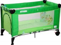 Кровать-манеж Caretero Simplo (Green) -