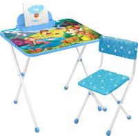 Комплект мебели с детским столом Ника КП2/16 Волшебный мир принцесс -