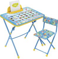 Комплект мебели с детским столом Ника КУ3/9 Азбука -
