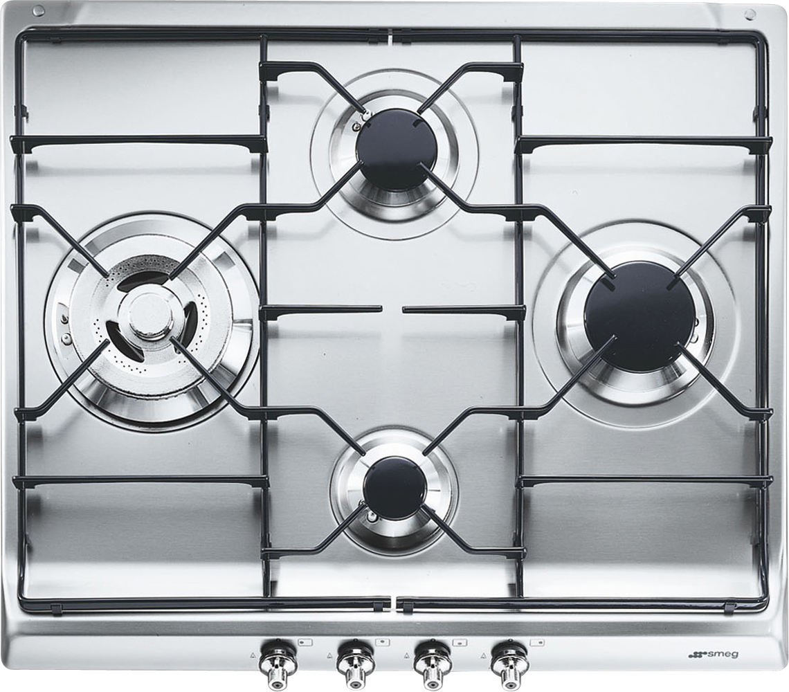 Купить Газовая варочная панель Smeg, SER60S3, Италия