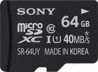 Карта памяти Sony microSDXC (Class 10) 64GB + адаптер (SR64NYAT) -