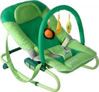 Детский шезлонг Caretero Astral (зеленый) -