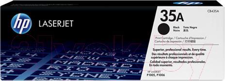 Купить Картридж HP, 35A (CB435A), Китай, черный