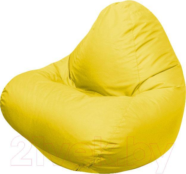 Купить Бескаркасное кресло Flagman, Relax Г4.1-07 (желтый), Беларусь, оксфорд