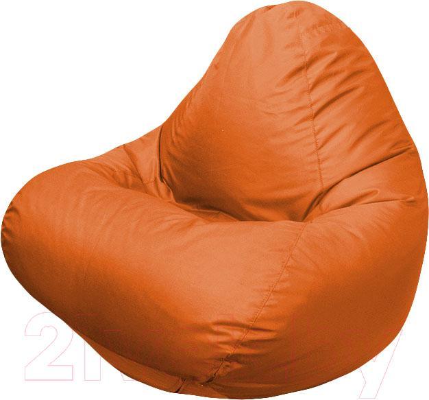 Купить Бескаркасное кресло Flagman, Relax Г4.1-10 (оранжевый), Беларусь, оксфорд