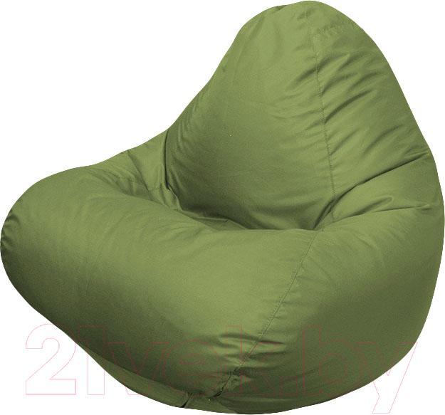 Купить Бескаркасное кресло Flagman, Relax Г4.2-03 (оливковый), Беларусь, зеленый, оксфорд