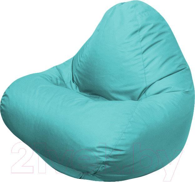 Купить Бескаркасное кресло Flagman, Relax Г4.2-13 (морская волна), Беларусь, бирюзовый, оксфорд