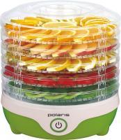 Сушка для овощей и фруктов Polaris PFD 0305 (бело-зеленый) -