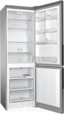 Холодильник с морозильником Hotpoint-Ariston HF 5180 S
