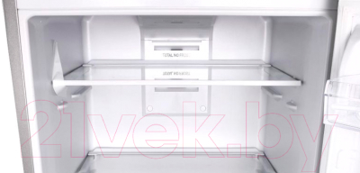 Холодильник с морозильником Indesit DFE 4160 S