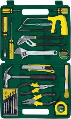 Универсальный набор инструментов RBT HY-T21 (21 предмет) - общий вид