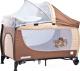 Кровать-манеж Caretero Grande 2016 (Brown) -