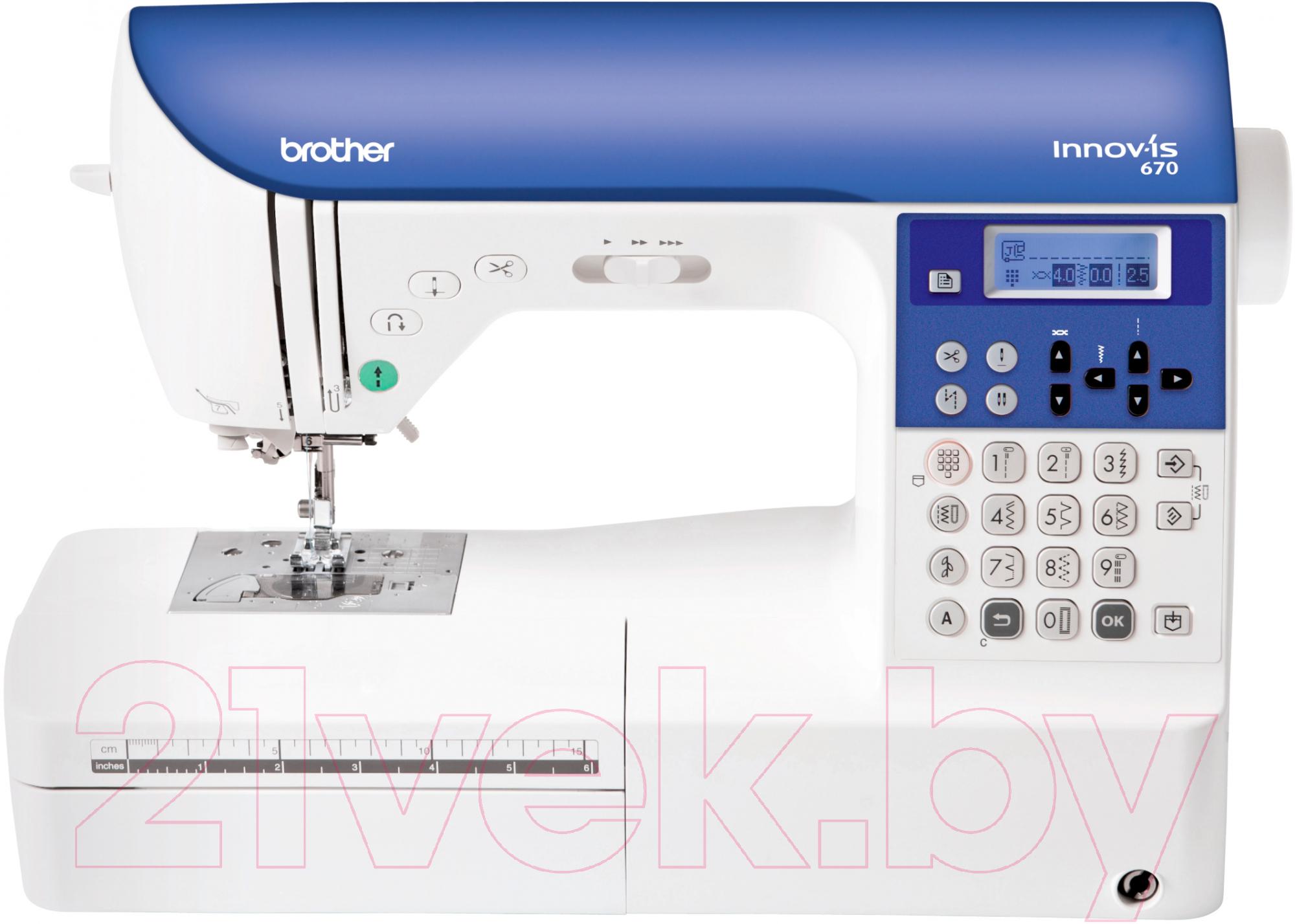 Купить Швейная машина Brother, NV-670, Китай