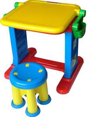 Комплект мебели с детским столом Полесье Моя первая студия / 1014 - в сложенном виде