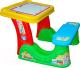 Комплект мебели с детским столом Полесье Набор дошкольника / 36650 (в коробке) -