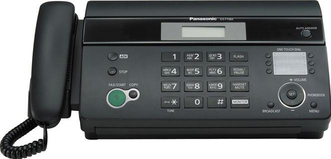Факс Panasonic, KX-FT984RU-B, Малайзия  - купить со скидкой