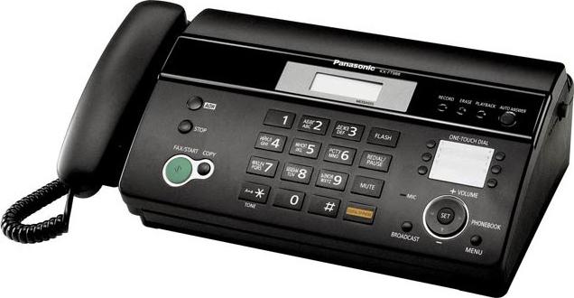 Купить Факс Panasonic, KX-FT982RU-B, Малайзия