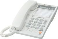 Проводной телефон Panasonic KX-TS2365 (белый) -