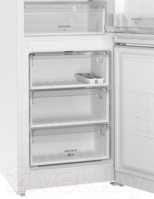 Холодильник с морозильником Hotpoint-Ariston HF 4180 W