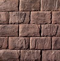 Декоративный камень Royal Legend Палаццо Питти бордово-коричневый 05-540 (340x200x12-17) -