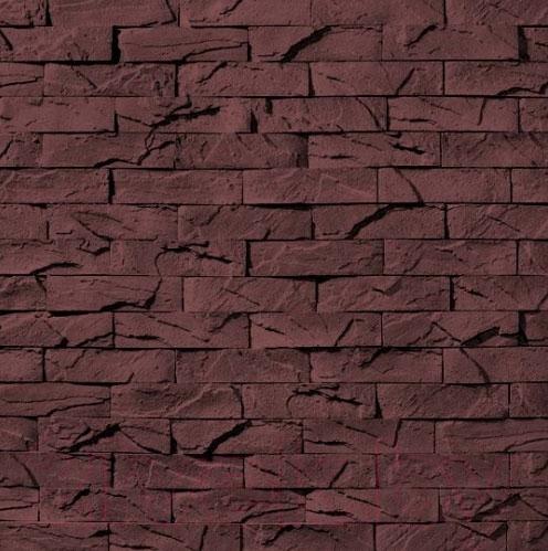 Купить Декоративный камень Royal Legend, Вавилон коричневый 03-540 (240x60x07-15), Беларусь, бетон