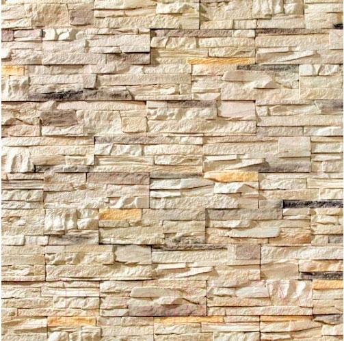 Купить Декоративный камень Royal Legend, Петра серо-желтый 02-188 (297x97x15-20), Беларусь, бетон