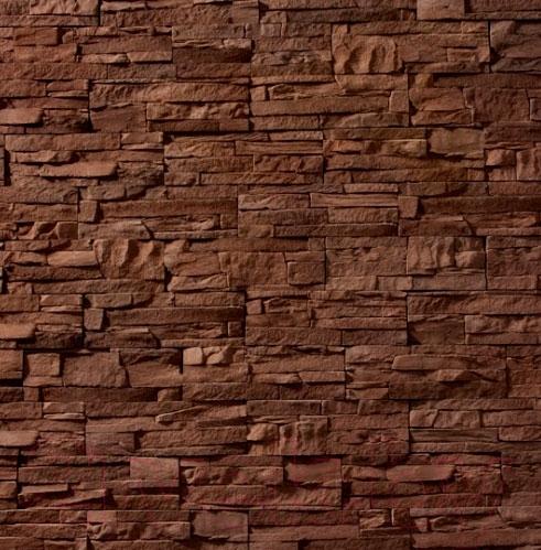 Купить Декоративный камень Royal Legend, Петра коричневый 02-780 (297x97x15-20), Беларусь, бетон