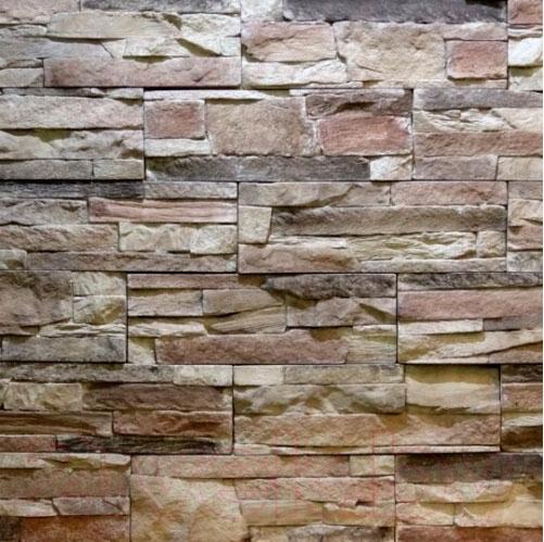 Купить Декоративный камень Royal Legend, Петра бежево-коричневый с серым 02-189 (297x97x15-20), Беларусь, бетон