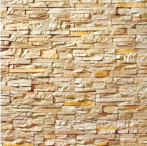 Купить Декоративный камень Royal Legend, Петра слоновая кость с нежно-желтым 02-040 (297x97x15-20), Беларусь, бетон