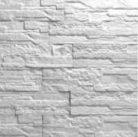 Декоративный камень Royal Legend Афина белоснежный 22-000 (375x85x5-12) -
