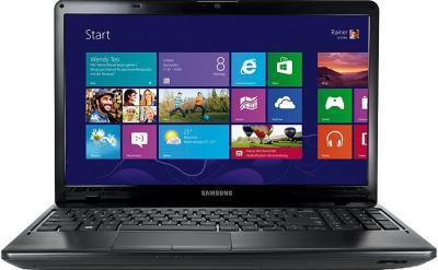 Ноутбук Samsung 350E5С (NP-350E5C-S0ARU) - фронтальный вид