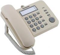 Проводной телефон Panasonic KX-TS2352 (бежевый) -