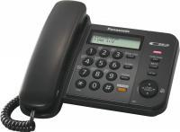 Проводной телефон Panasonic KX-TS2358 (черный) -