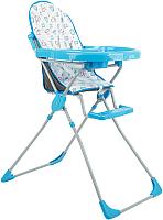 Стульчик для кормления Selby 152 / 0005600-01 (голубой) -
