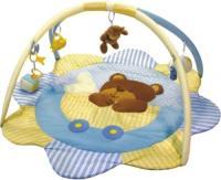 Развивающий коврик Baby Mix 3131C (голубой мишка) -