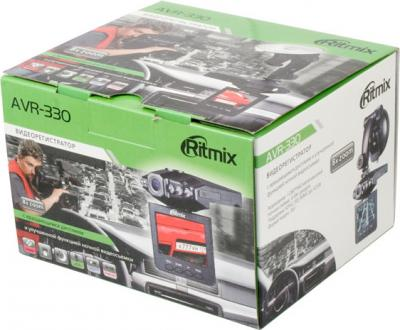 Автомобильный видеорегистратор Ritmix AVR-330 - коробка