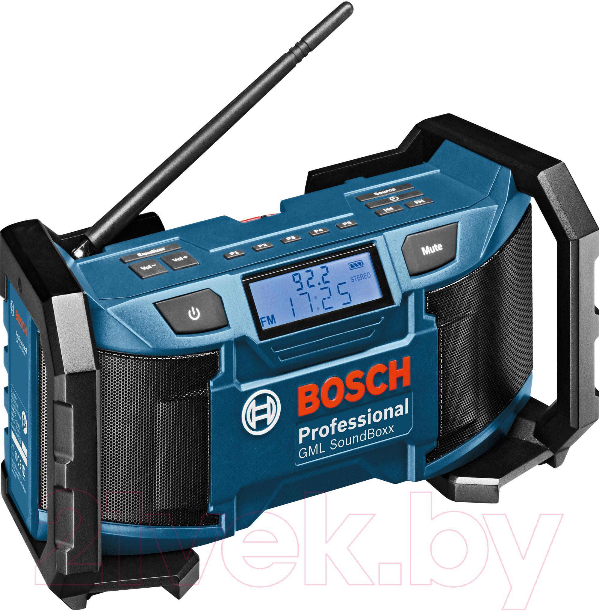 Купить Радиоприемник Bosch, GML Sound Boxx (0.601.429.900), Китай