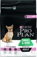 Корм для собак Pro Plan Adult OptiDerma Small & Mini с лососем и рисом (7кг) -
