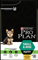 Корм для собак Pro Plan Puppy Small & Mini с курицей и рисом (7кг) -