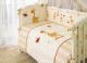 Комплект в кроватку Perina Кроха К4-01.2 (Жирафики) -