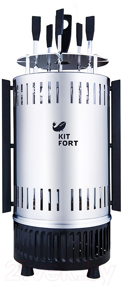 Купить Электрошашлычница Kitfort, KT-1405, Китай