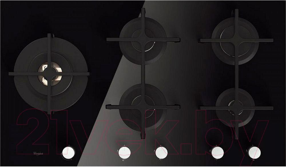 Купить Газовая варочная панель Whirlpool, GOA 9523/NB, Италия