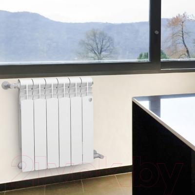 Радиатор биметаллический Royal Thermo Revolution Bimetall 500 (4 секции)