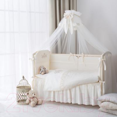 Комплект постельный в кроватку Perina Версаль ВС6-01.2 - Фото в интерьере