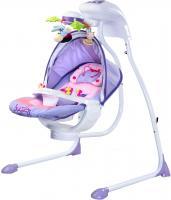 Качели для новорожденных Caretero Bugies (фиолетовый) -