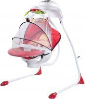 Качели для новорожденных Caretero Bugies (красный) -