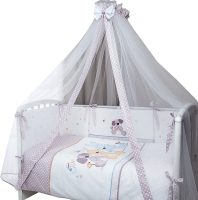 Комплект постельный в кроватку Perina Венеция / В7-01.2 (три друга) -