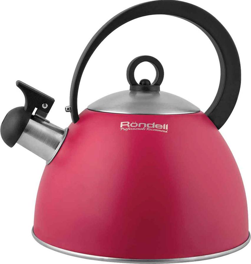 Купить Чайник со свистком Rondell, RDS-361 Geste, Китай, розовый